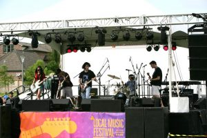 Strike up the bands: Local Music Festival kicks off tonight in Bellaire